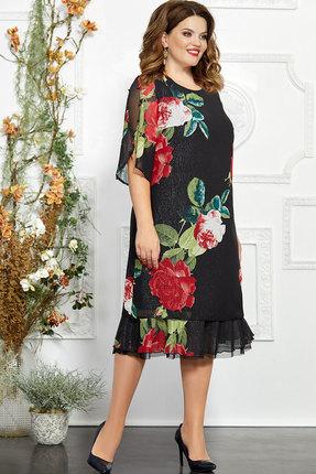 Платье Mira Fashion 4844 чёрный