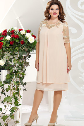Платье Mira Fashion 4828-2 пудра