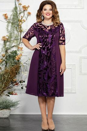 Платье Mira Fashion 4834 слива