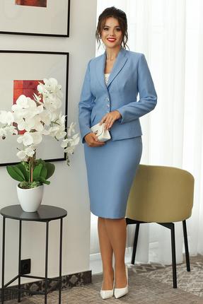 Комплект юбочный Мода-Юрс 2224 светло синий