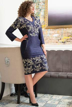 Платье Avanti Erika 891-1 синий