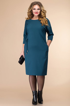 Платье Romanovich style 1-2063 темная бирюза