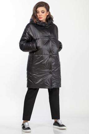 Пальто Anna Majewska 1410 черный