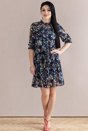 Платье Jurimex 2329 синие тона