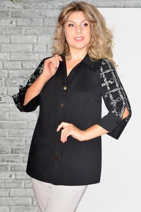 Рубашка Needle Ревертекс 436/1 черный