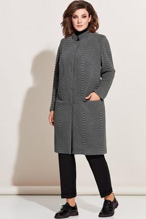 Кардиган Olga Style 681 серый