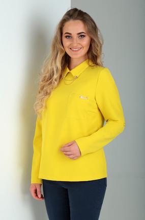 Блузка Таир-Гранд 62224 желтый