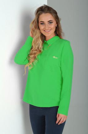Блузка Таир-Гранд 62224 зеленый