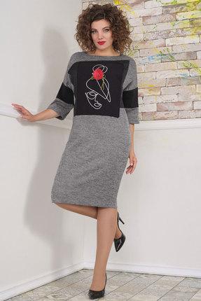 Платье Avanti Erika 1104 серые тона
