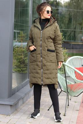 Пальто Мода-Юрс 2602 хаки