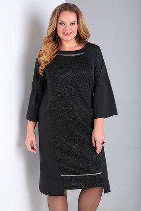 Платье Viola Style 0937 черный
