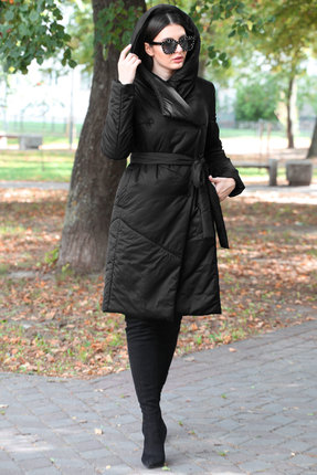 Пальто Doggi 6290 черный