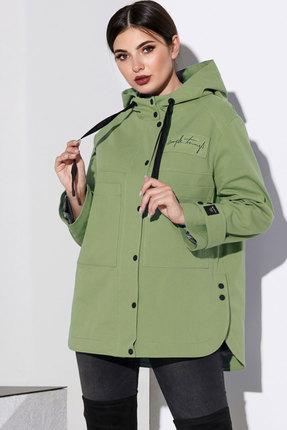 Куртка Lissana 4137 оливковый
