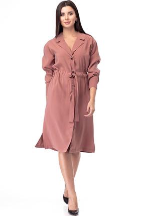 Платье Anelli 900 терракотовые тона