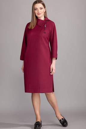 Платье Olegran 3670 вишневый