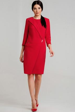 Платье Olegran Д-661 красный