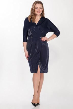 Платье LaKona 1286 синий