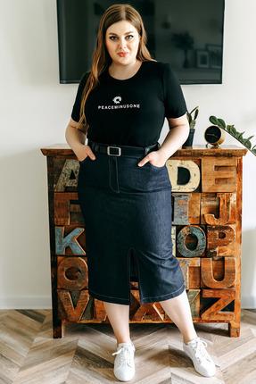Юбка Olga Style м355 джинс