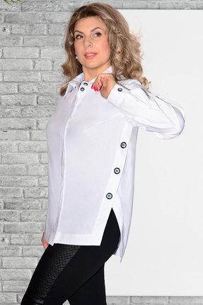 Рубашка Needle Ревертекс 437 белый