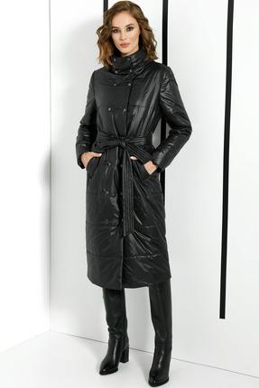 Пальто DiLiaFashion 0374 черный