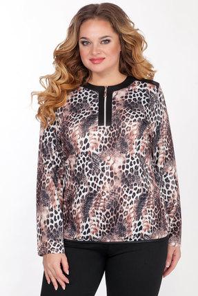 Джемпер Emilia 443/1 леопардовый