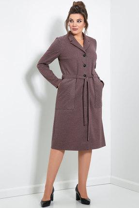 Платье JeRusi 20102 серо-коричневый