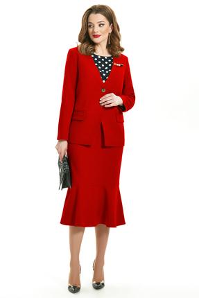 Комплект юбочный TEZA 1560 красный