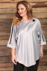 Блузка Angelina & Co 443 серый