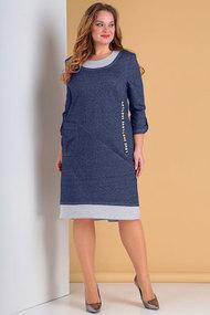 Платье Тэнси 294 синий