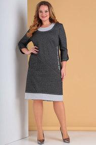 Платье Тэнси 294 серый