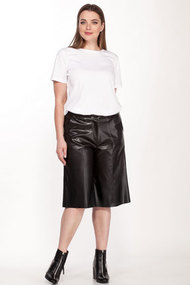 Комплект с шортами Belinga 2116 черный с молочным
