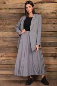 Комплект юбочный Angelina & Co 429 серый с черным