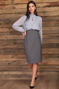 Комплект юбочный Angelina & Co 431 серый