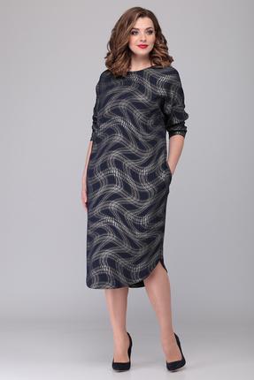 Платье Verita Moda 2042 синий