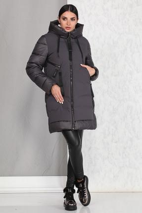 Пальто B&F 4001 графитовый