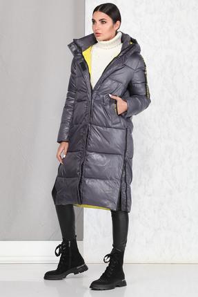 Пальто B&F 4002 серый