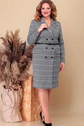 Платье Асолия 2491 серый