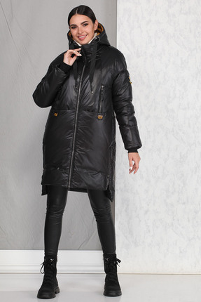 Пальто B&F 4003-1 черный