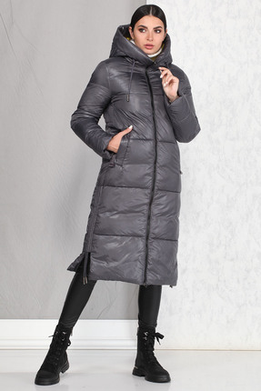 Пальто B&F 4005 серые тона
