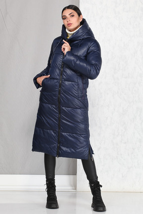 Пальто B&F 4005 синий