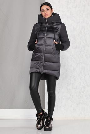 Пальто B&F 4009 графитовый