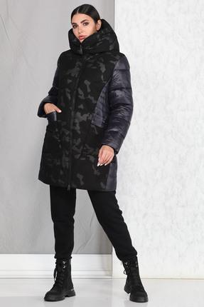 Пальто B&F 4012 синий