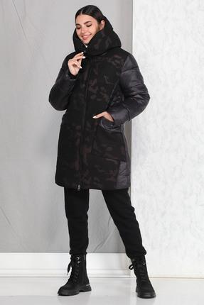 Пальто B&F 4012 черный