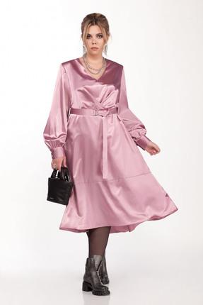 Платье Pretty 1228 розовые тона
