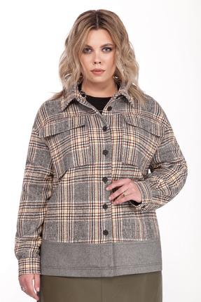 Куртка Pretty 1309 бежевые тона