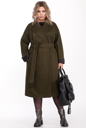 Пальто Pretty 1310 хаки