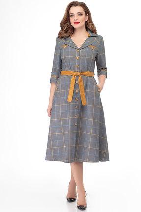 Платье БелЭкспози 1235 серые тона