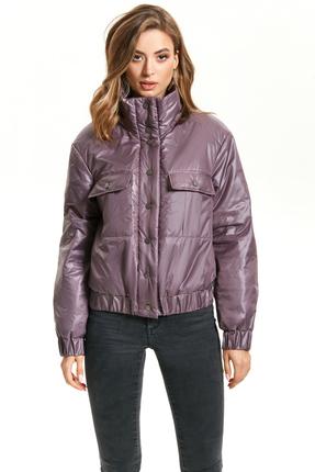 Куртка TEZA 1424 сиреневые тона