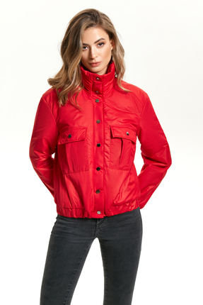 Куртка TEZA 1424 красный