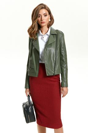 Куртка TEZA 1425 зеленый